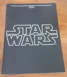 Star Wars Deluxe Souvenir Folio of Music Selections, Photos ...