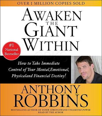 NEW 2 CD Awaken the Giant Within  Anthony Tony Robbins nlp