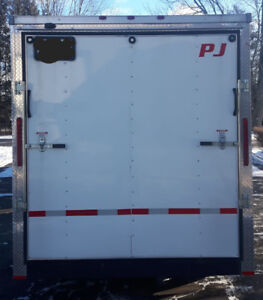 2017 PJ enclosed cargo trailer