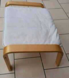 Nursing Footstool wooden