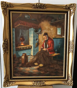 Oil Painting - old masters style