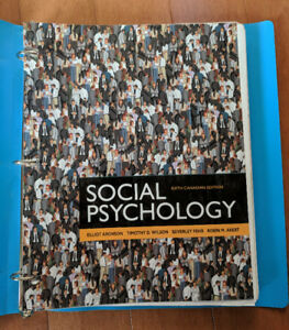 Social psychology aronson buy or sell books in manitoba kijiji social psychology textbook sixth canadian edition fandeluxe Gallery