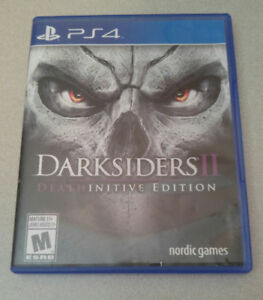 Darksiders II DEATHINITIVE EDITION PS4 Perfect Condition