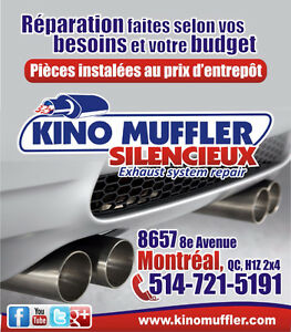 Muffler repair, Catalytic Converter, Noise Problem