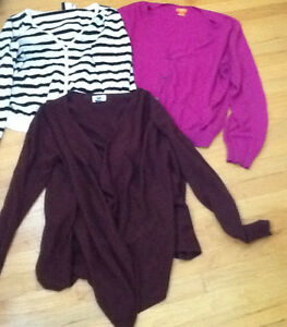 3 SWEATER TOPS /$10