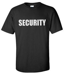 Security Guard Bouncer T-shirt (L-2XL)