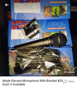 Brand new Microphones $35 each