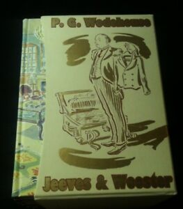 Folio Society P. G. WODEHOUSE & Paul COX JEEVES & WOOSTER 6 Vols