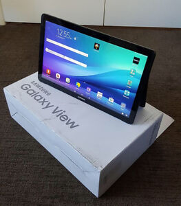 Galaxy view tablet 18.4