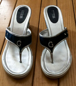 Women's Guess Sandles With Heels, Size 10 - St. Thomas