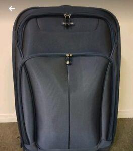 Large Blue Samsonite Suitcase