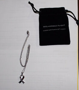 Silver WillLand Pendant Necklace - Brand new