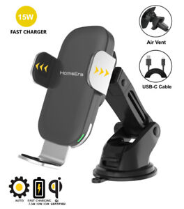 Weekly Promo! Smart Wireless Car Charger, Phone Mount Holder