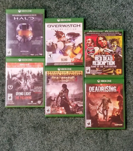 Video Games for Xbox One,  Ps4 and Wii