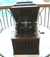 Antique Edison Amberola Cylinder Phonograph