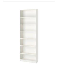 PAK BILLYS RANGE IKEA ignore shelves, tilted shoe shelves