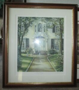 "Trisha Romance Framed Numbered Limited Edition ""The Pathway"""