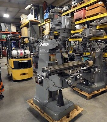 Bridgeport 2hp Variable Speed Milling Machine With 42 Inch Table Inv.33222