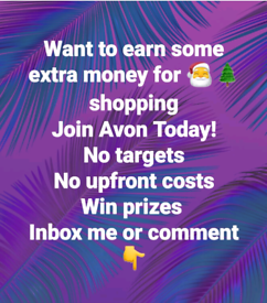 EARN FOR CHRISTMAS WITH AVON