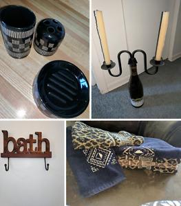 Safari bathroom set