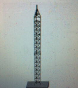 30' steel tower for wind turbine, satellite receiver or ??