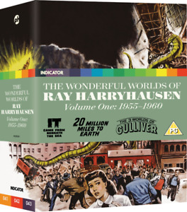 Ltd Edn Wonderful Worlds of Ray Harryhausen Vol 1 Blu-ray Box NM