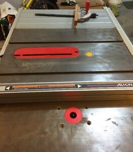 Tablesaw / Router Table combo
