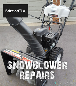 Mobile Snowblower Repair / Maintenance • Small Engine Services