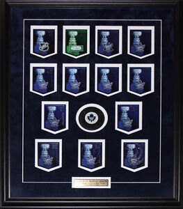 NHL Stanley Cup Panini Team Card Sets Frame Memorabilia