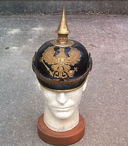 WW1 German Officers Picklehaube (Military Helmet)