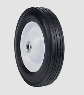 "ARNOLD 8"" x1.75"" Universal Ball Bearing Steel LAWN MOWER Wheel Tire 490-322-0005"