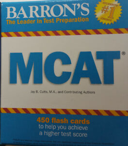MCAT Flashcards for sales-Fees negotiable