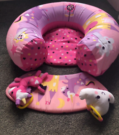Red Kite Inflatable Sit Me Up Ring - Unicorn
