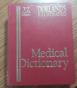 Dorland's Illustrated Medical Dictionary 27th Edition (1988)