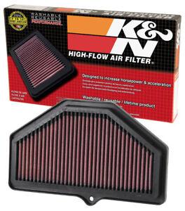 K&N High-Flow Air Filter - Suzuki GSXR600 / GSXR750 (2004-2005)