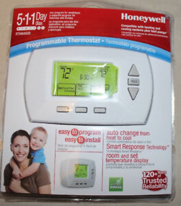 Honeywell RTH6450D1009 5-1-1-Day Programmable Thermostat - New