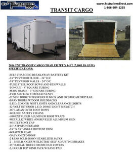 7 x 14 Cargo Trailer - For Sale by Owner