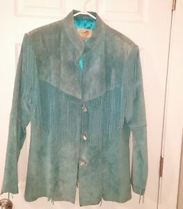Scully suede western jacket