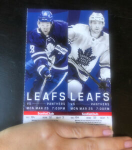 LEAFS vs PANTHERS - Monday!