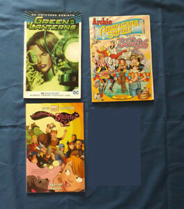 DC Green Lanterns, Marvel Squirrel Girl, Archie 70s, TPB Lot