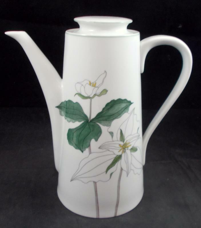 Block TRILLIUM Coffee Pot GREAT CONDITION