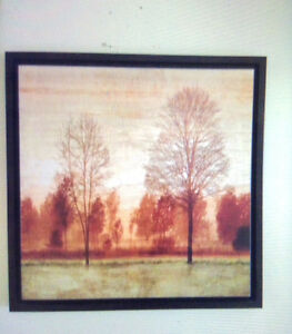 Paintings, framed, Peintures encadres