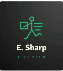 Courier service company / E. SHARP COURIER