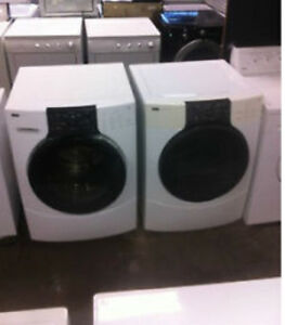 FRONT LOAD WASHER- DRYER SET- 1 YEAR WARRANTY!! Edmonton Edmonton Area image 2