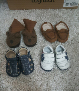 Various boys toddler shoes size 5