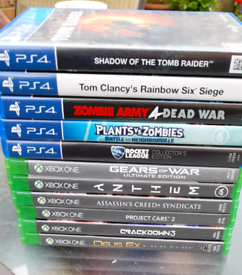 PS4 AND XBOX ONE GAMES FOR SALE