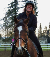 Beginner Ladies Learn to Ride at Balance Equestrian Centre