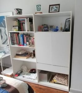 Multi Functional REFF White MCP Wall Unit System