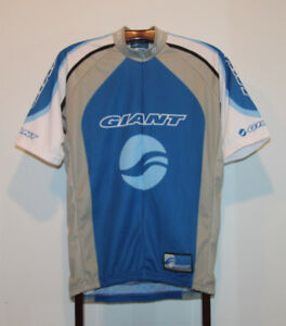 GIANT RACING EQUIPMENT SHORT SLEEVE CYCLING JERSEY SIZE ADULT XL