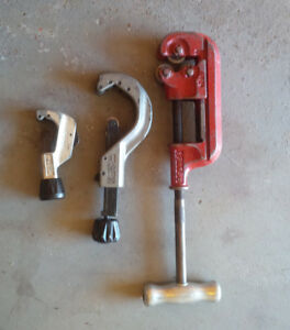 C-CLAMPS, PIPE CUTTERS, PIPE WRENCHES, THREADER, 3/8 BENDER